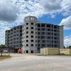 Flamingo Crossings Hotel construction - April 13 2020