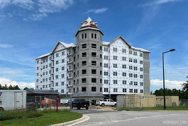 Flamingo Crossings Hotel construction - August 14 2020