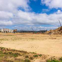 Flamingo Crossings Hotel construction - November 2020