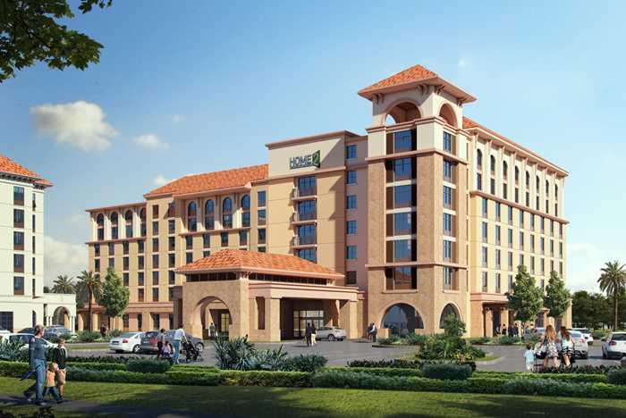 Flamingo Crossings Hotel construction - November 2020