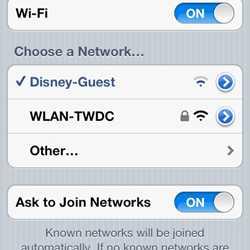 Magic Kingdom WiFi hands-on