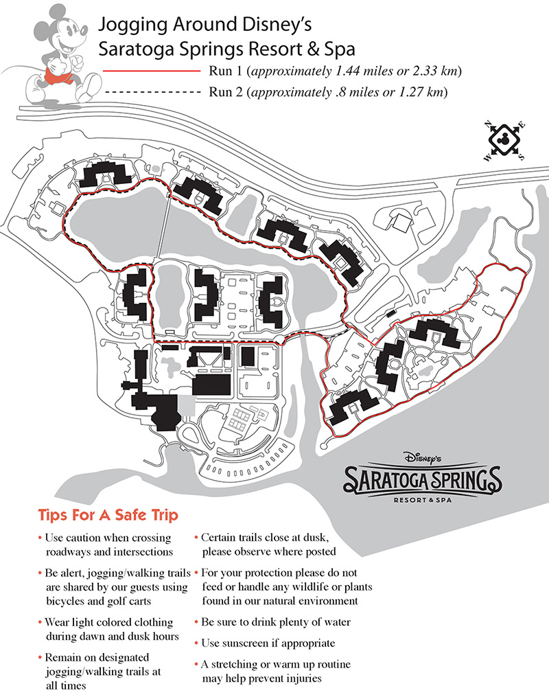 Resort jogging and running maps - Photo 1 of 13