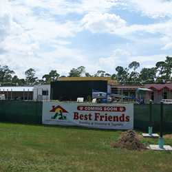 Best Friends luxury pet resort construction