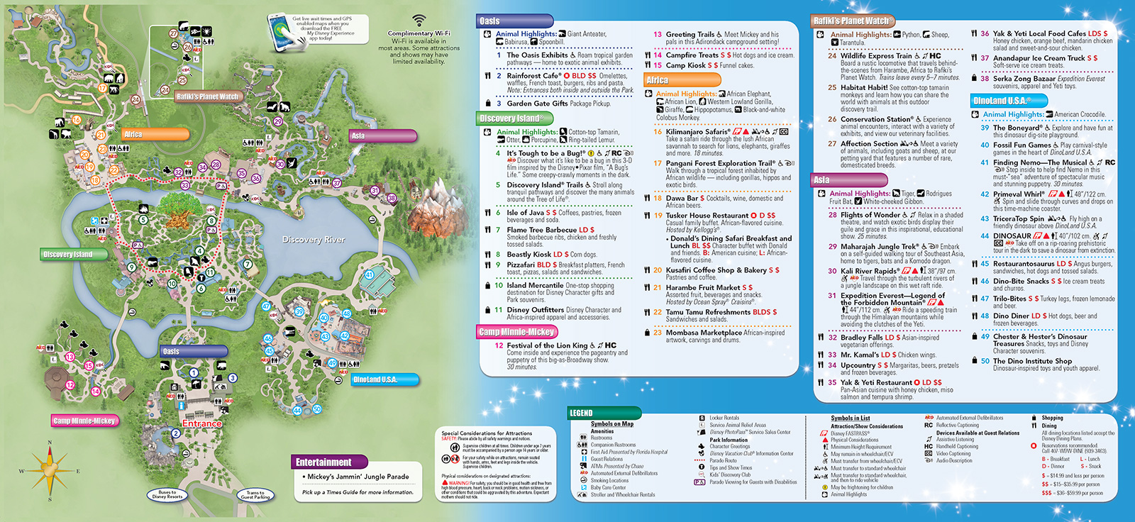 New 2013 Park Maps and Times Guides - Photo 3 of 20