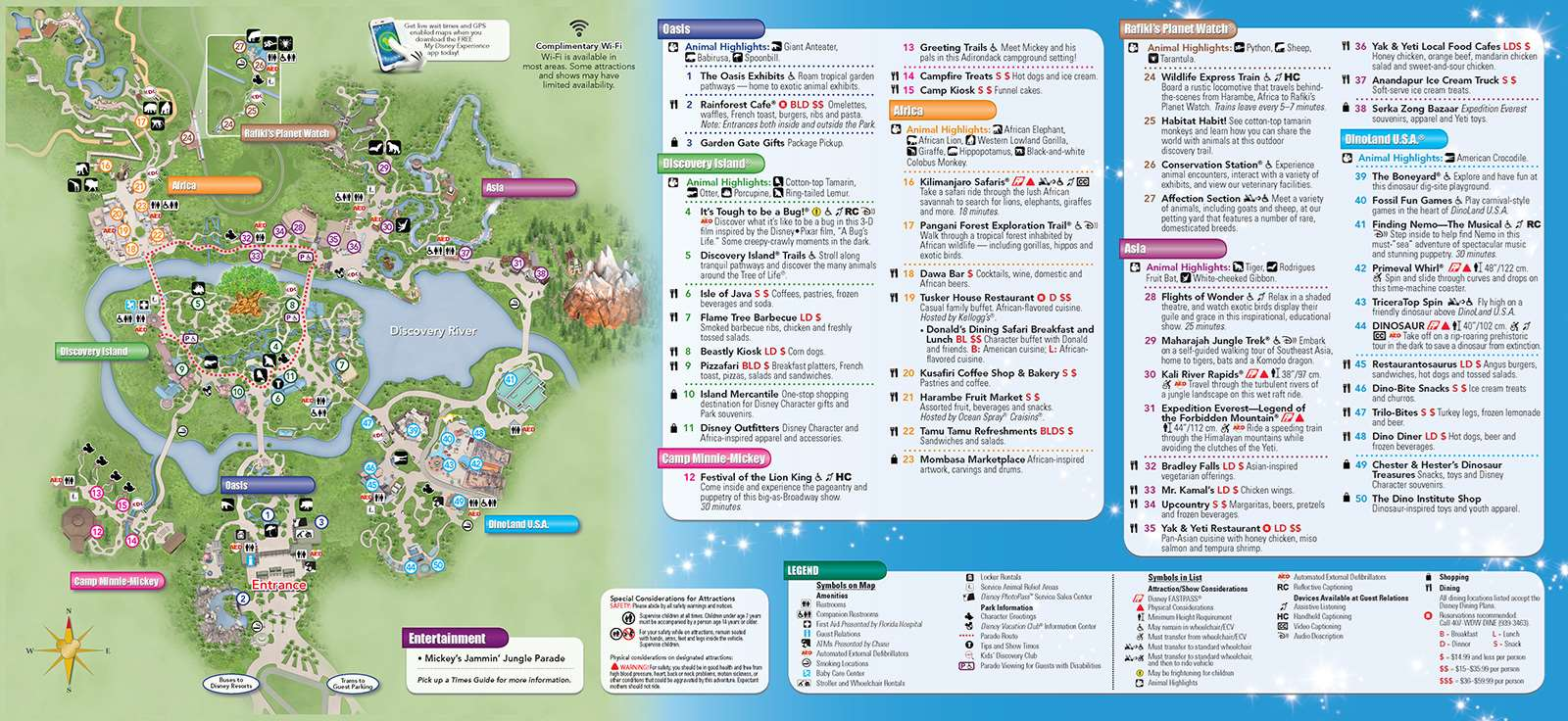 New 2013 Park Maps and Times Guides - Photo 2 of 20