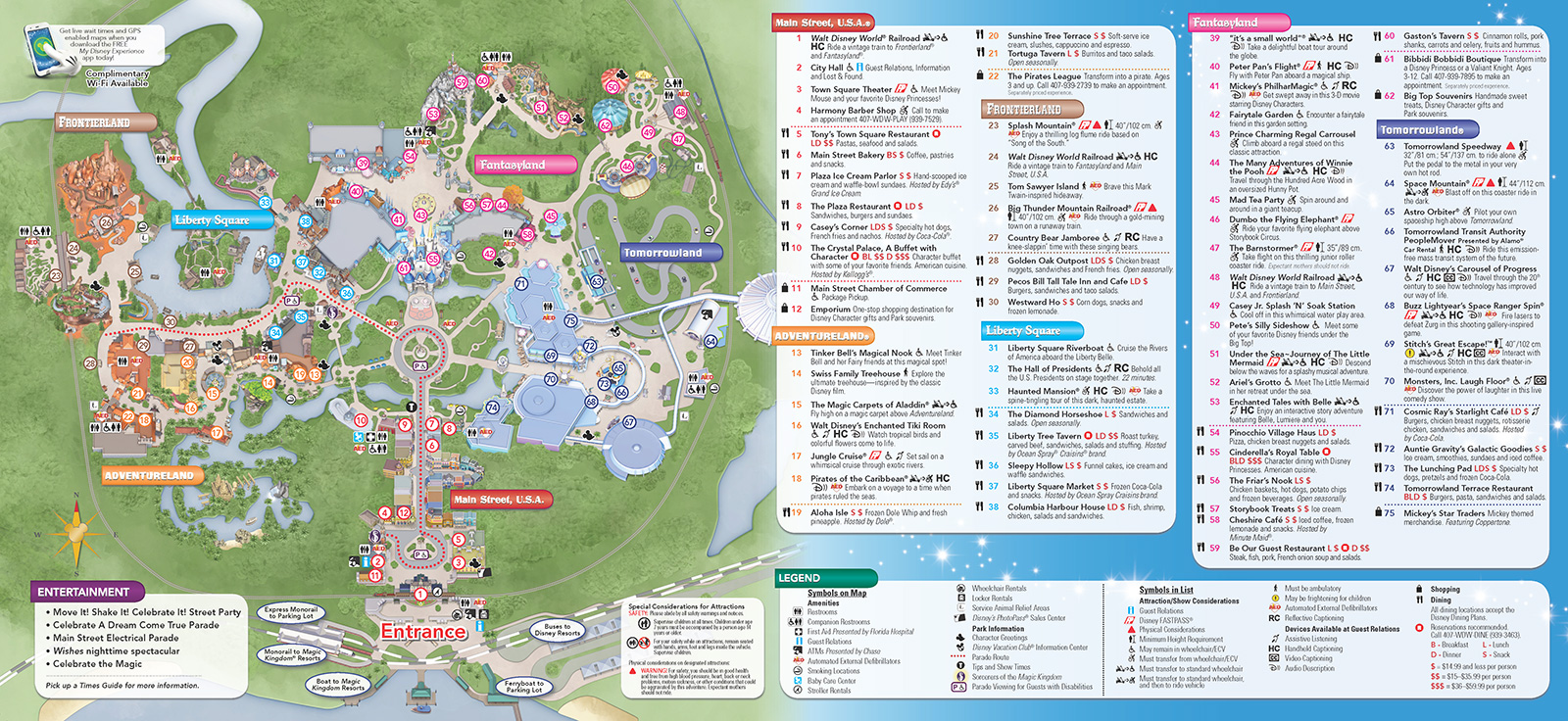 New 2013 Park Maps and Times Guides - Photo 8 of 20