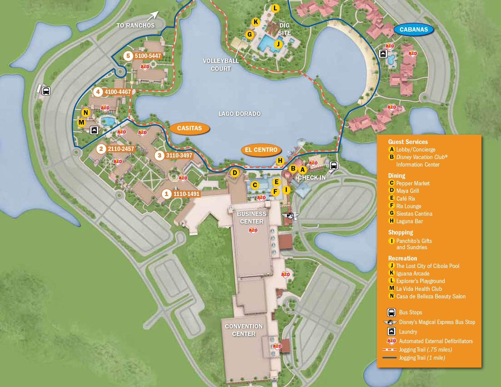 PHOTOS - New design of maps now at Walt Disney World resort hotels