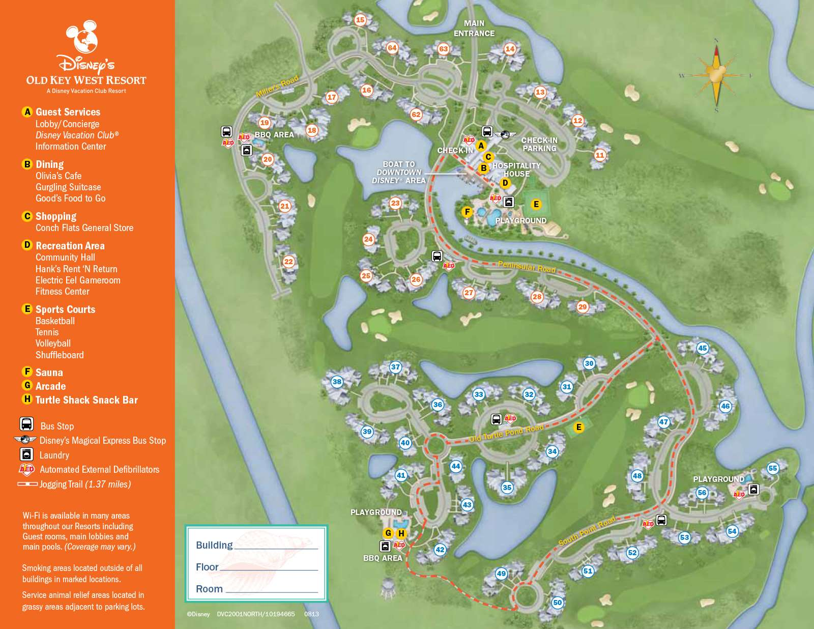 PHOTOS - New design of maps now at Walt Disney World resort ...