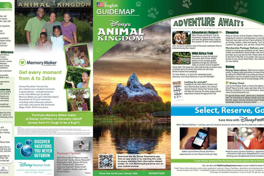 Walt disney world park and resort maps photos may 2015 walt disney world resort park maps gumiabroncs Images
