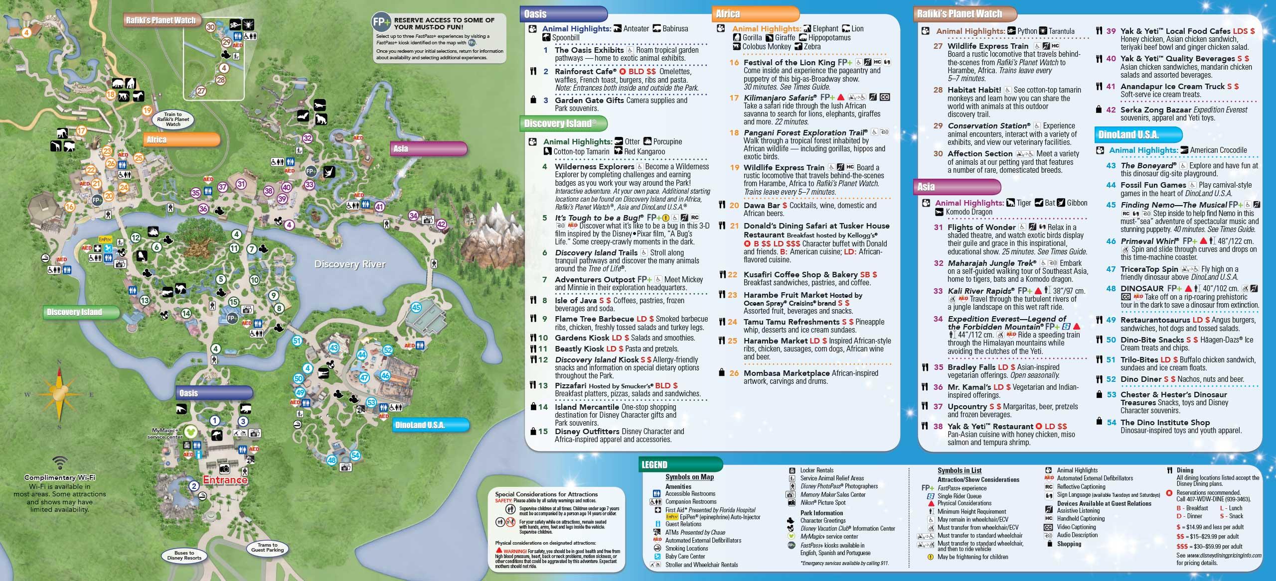 May 2015 Walt Disney World Resort Park Maps - Photo 8 of 14
