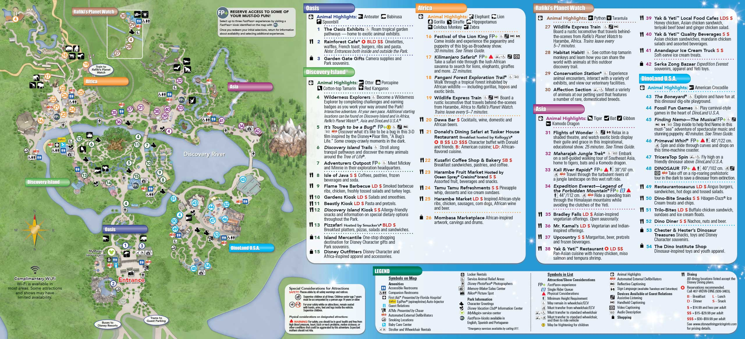 May 2015 Walt Disney World Resort Park Maps - Photo 2 of 14