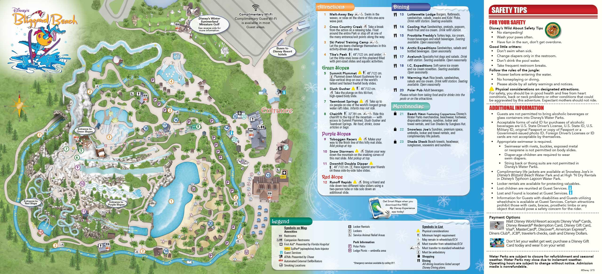 May 2015 Walt Disney World Resort Park Maps