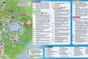 January 2016 Walt Disney World Park Maps - Photo 2 of 12