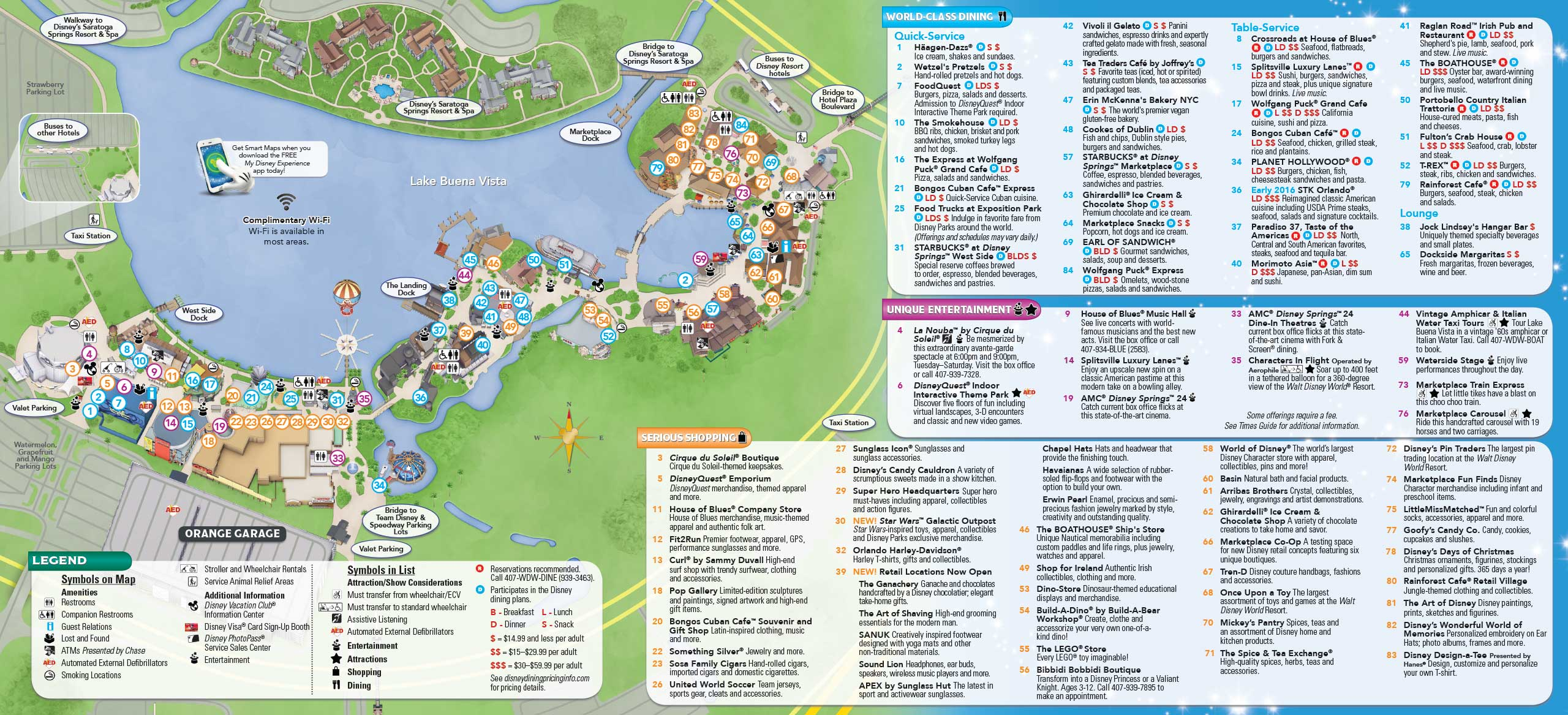 January 2016 walt disney world park maps photo 1 of 12 gumiabroncs Image collections