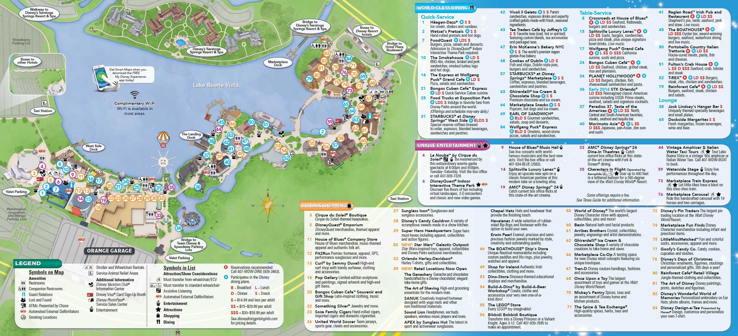 January 2016 Walt Disney World Park Maps - Photo 10 of 12