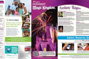 January 2016 walt disney world park maps photo 7 of 12 magic kingdom guide map january 2016 front freerunsca Gallery