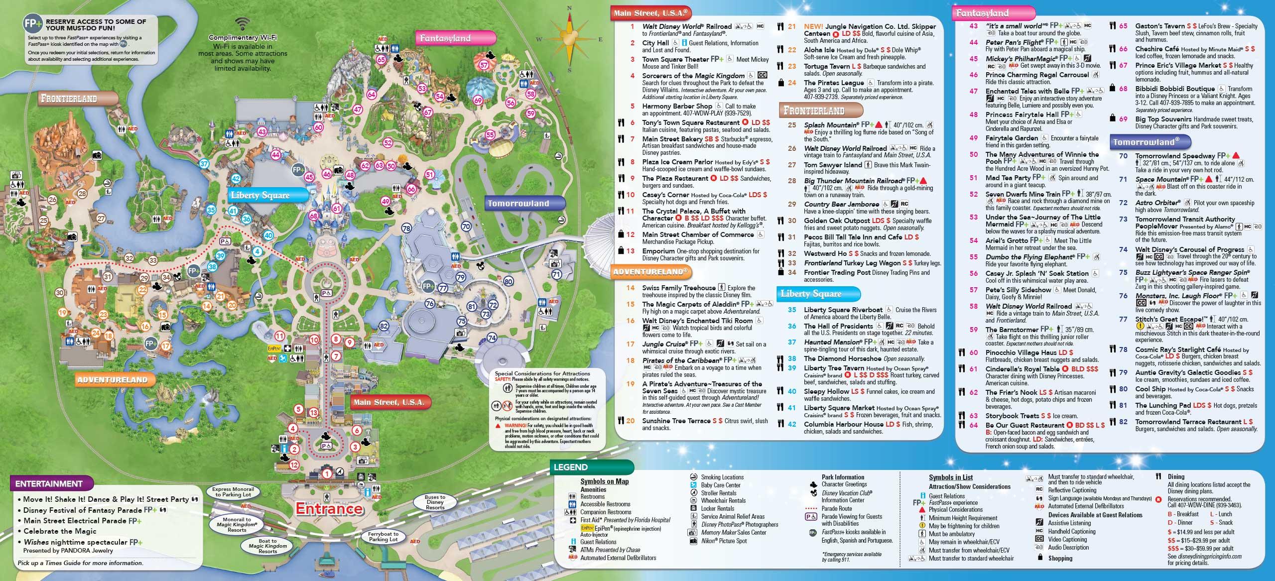 January 2016 walt disney world park maps photo 8 of 12 january 2016 walt disney world park maps freerunsca Gallery