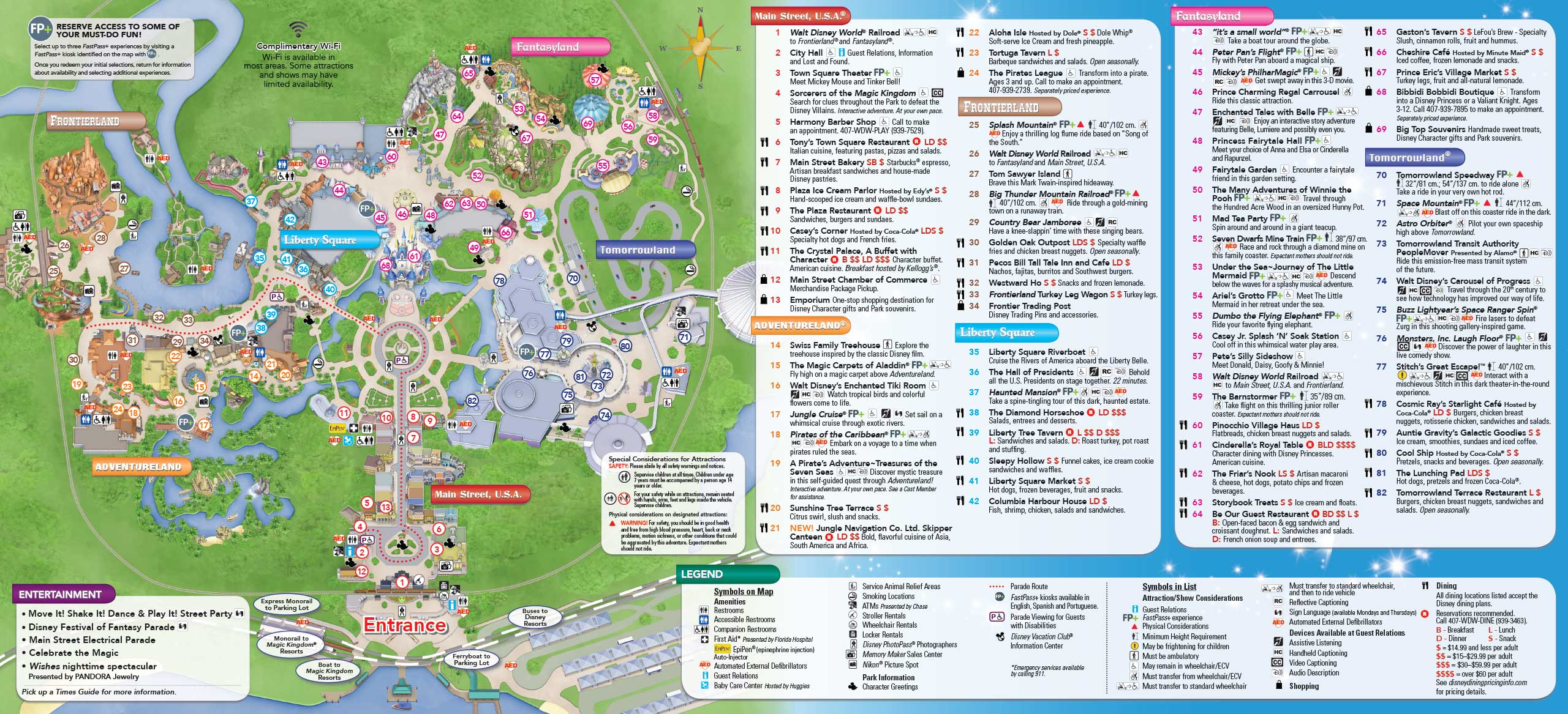 May 2016 walt disney world park maps photo 8 of 14 gumiabroncs Image collections
