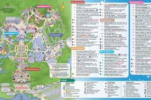 June 2016 Walt Disney World Park Maps   Photo 2 of 4