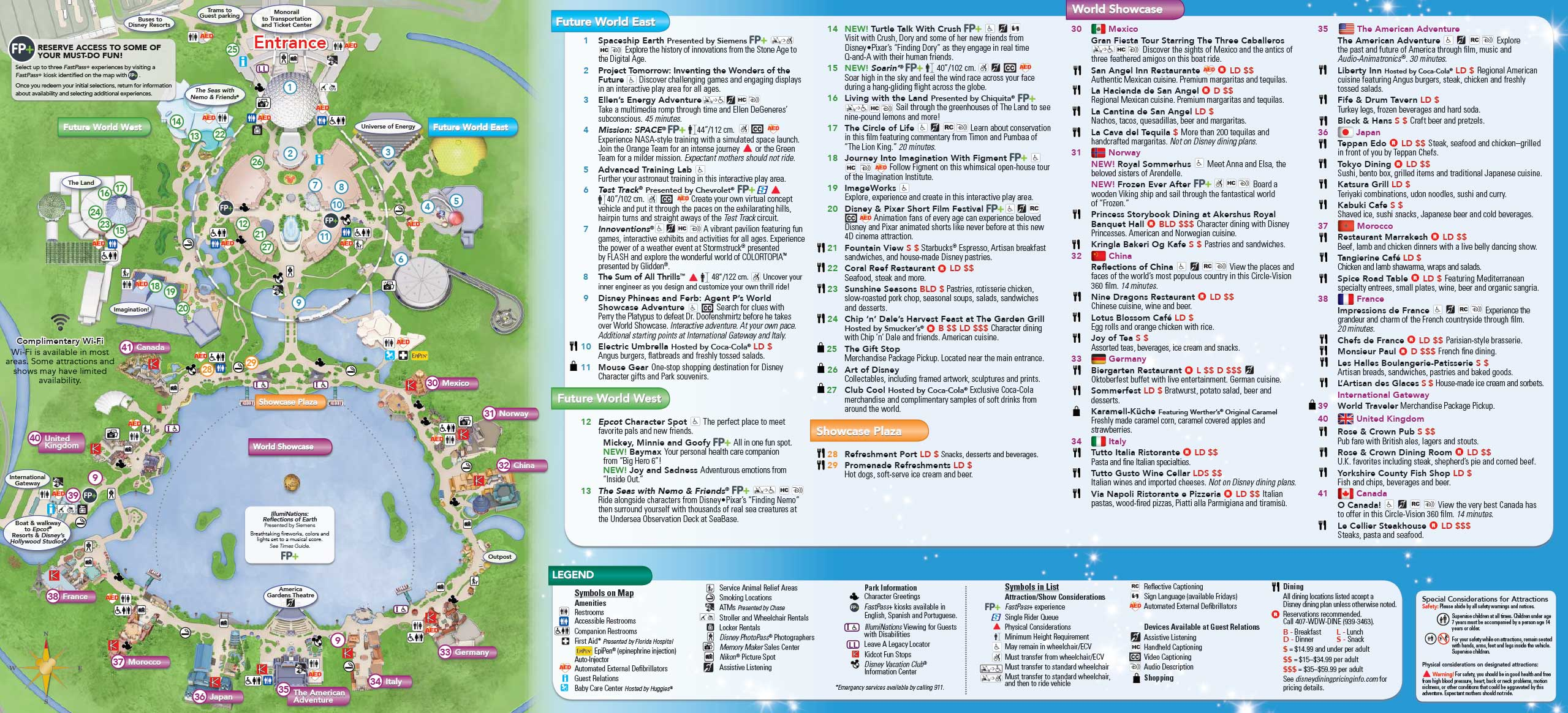 June 2016 walt disney world park maps photo 1 of 4 gumiabroncs Image collections