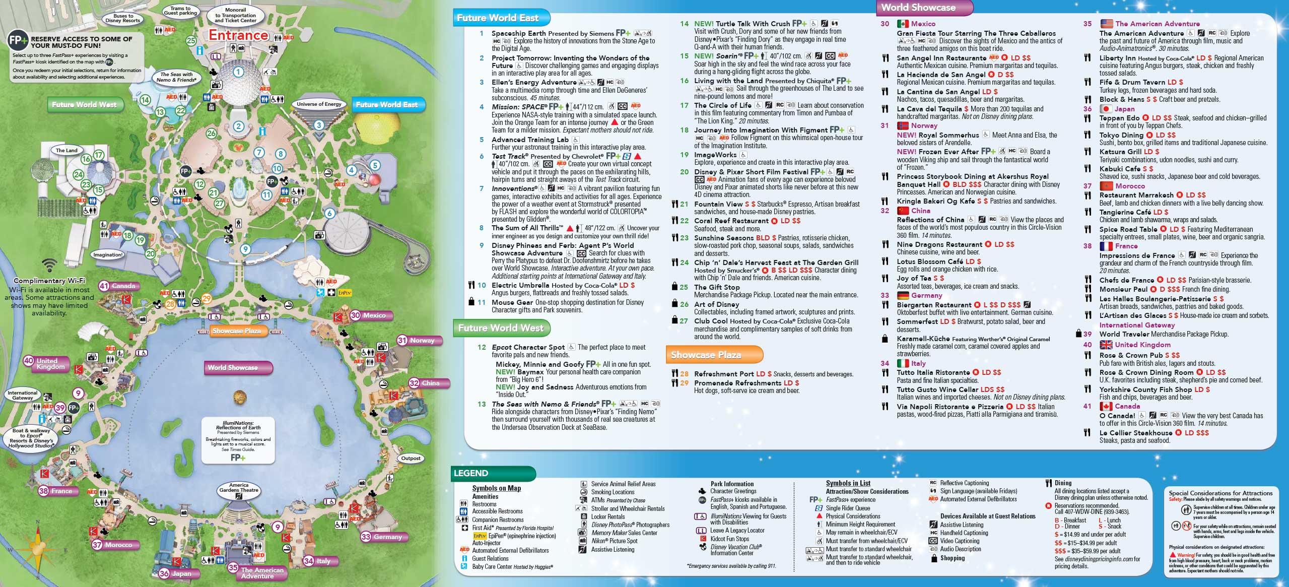 June 2016 Walt Disney World Park Maps - Photo 4 of 4