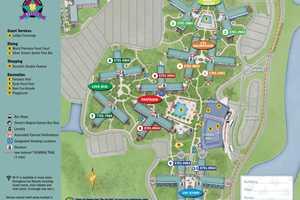 April 2017 Walt Disney World Resort Hotel Maps Photo 12 Of 33