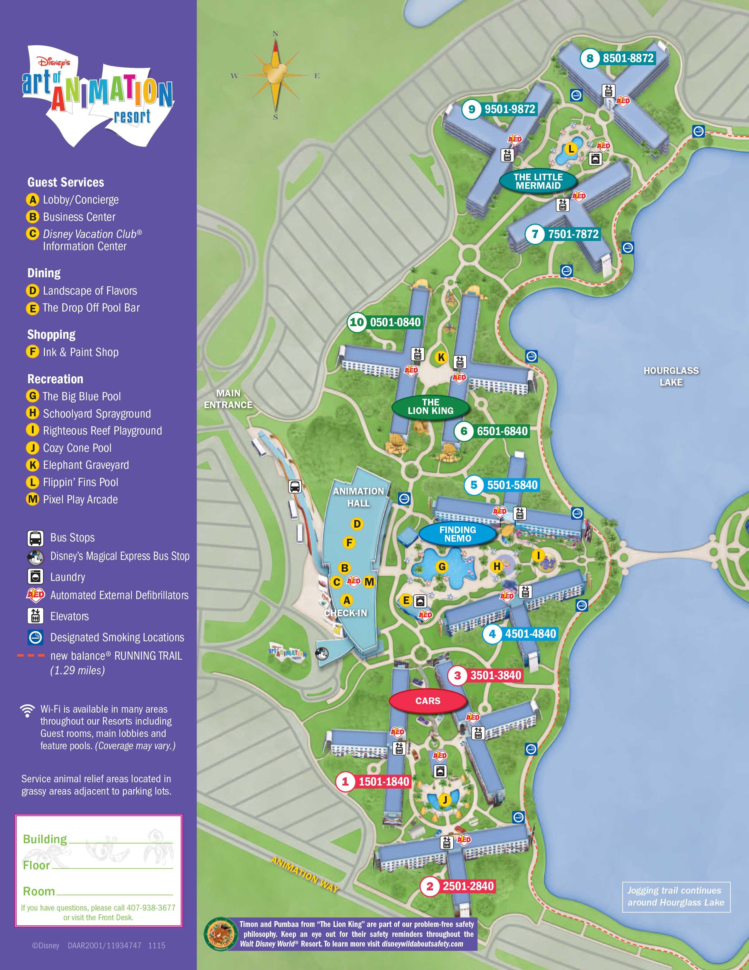 Walt Disney World Map With Hotels.April 2017 Walt Disney World Resort Hotel Maps Photo 5 Of 33