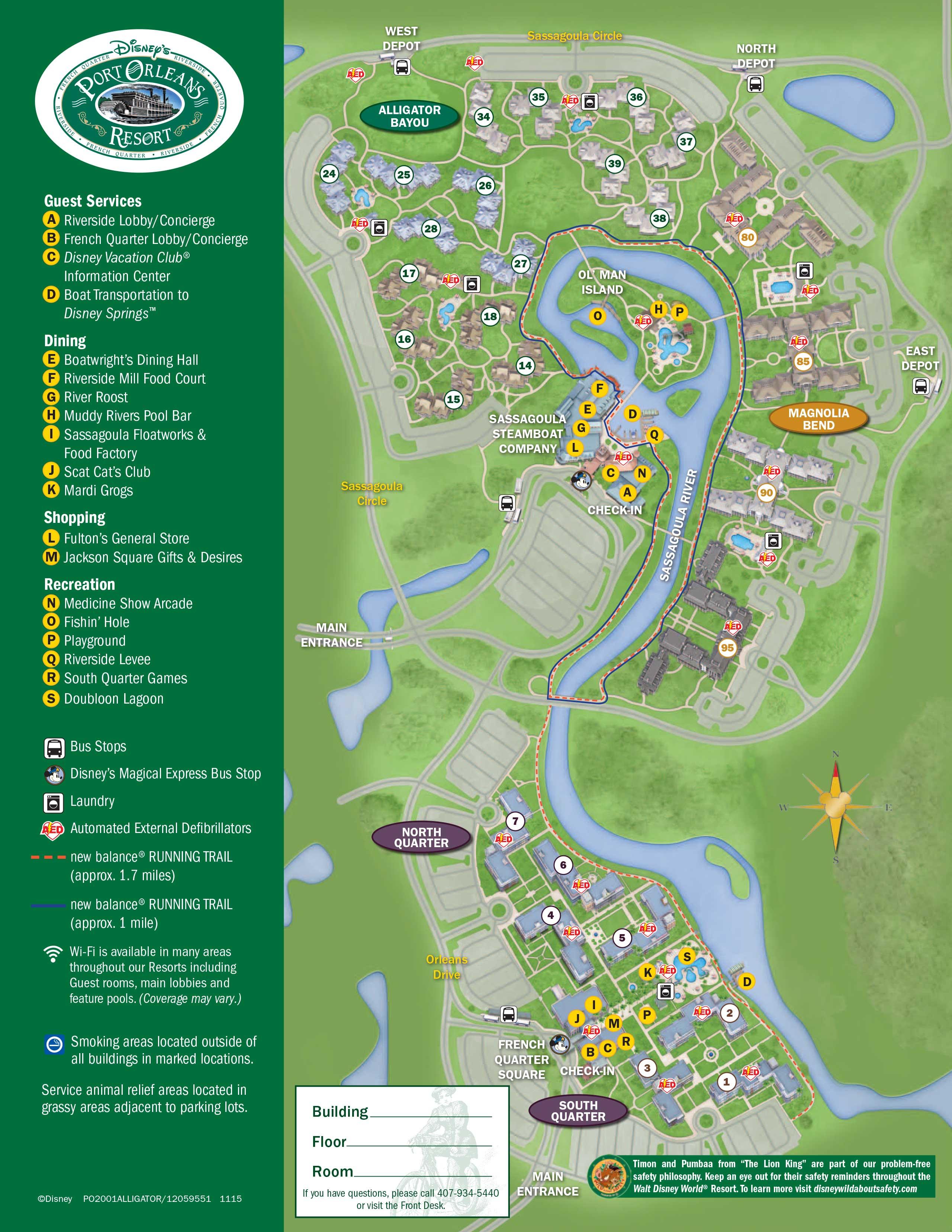 f6f250a85f April 2017 Walt Disney World Resort Hotel Maps - Photo 7 of 33