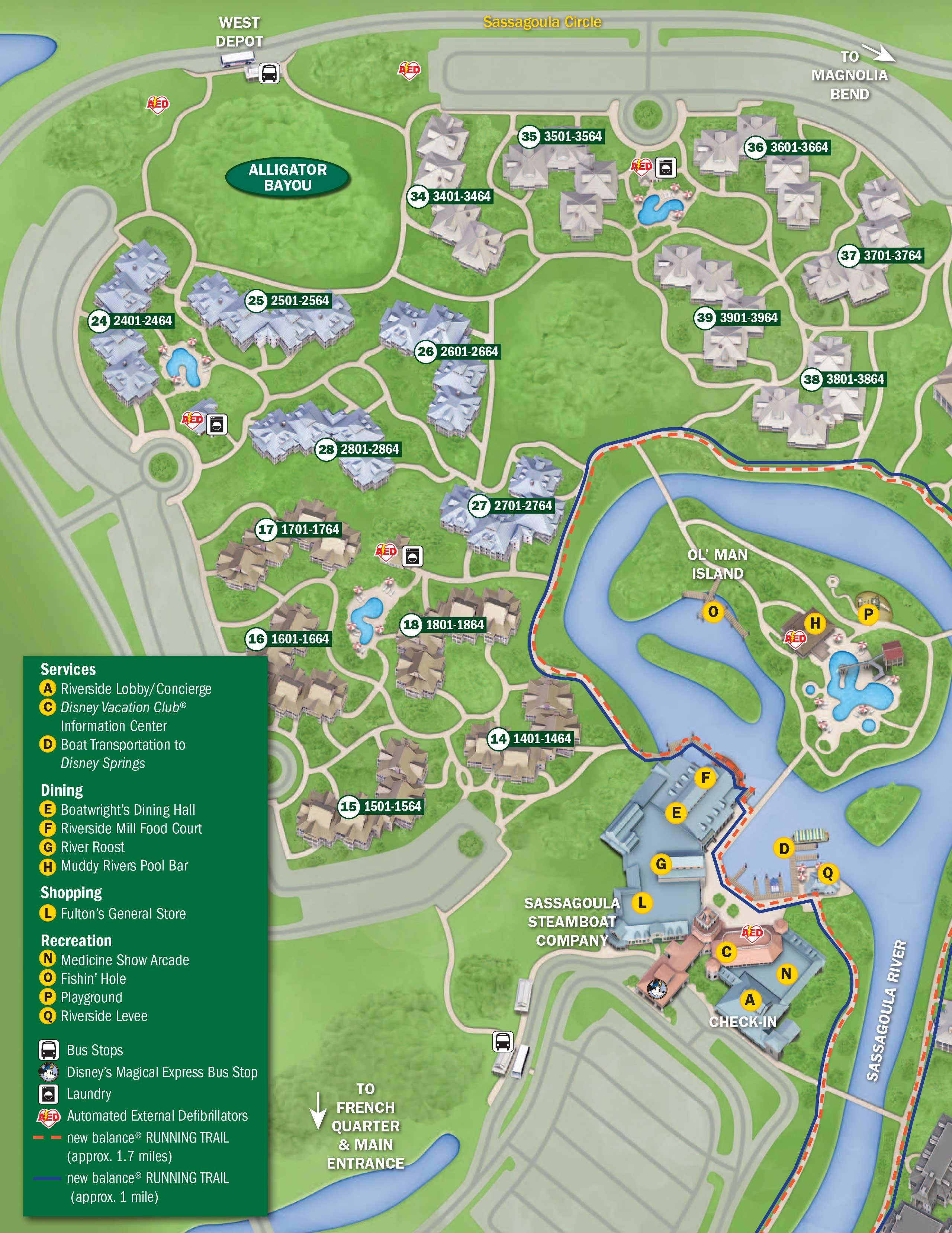 April 2017 Walt Disney World Resort Hotel Maps - Photo 8 of 33