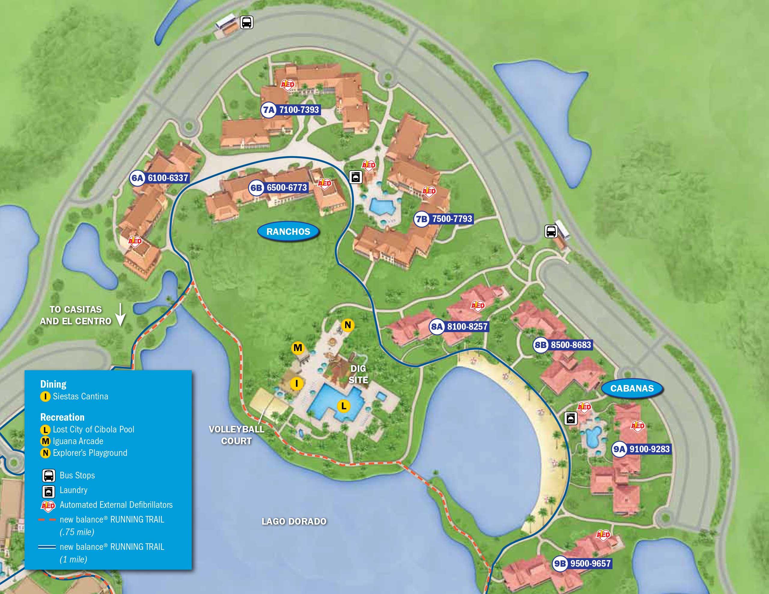 April 2017 Walt Disney World Resort Hotel Maps - Photo 12 of 33 on