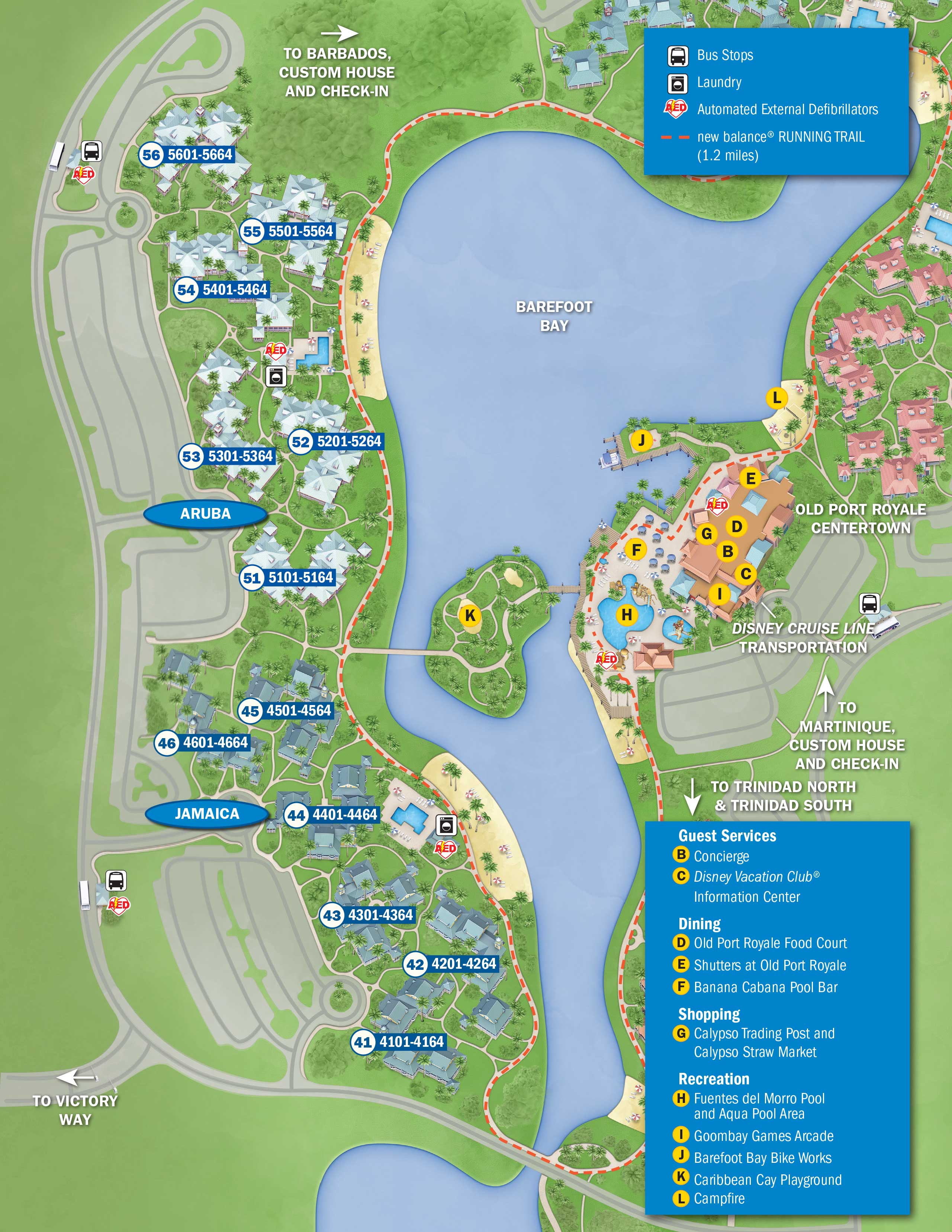 April 2017 Walt Disney World Resort Hotel Maps - Photo 15 of 33