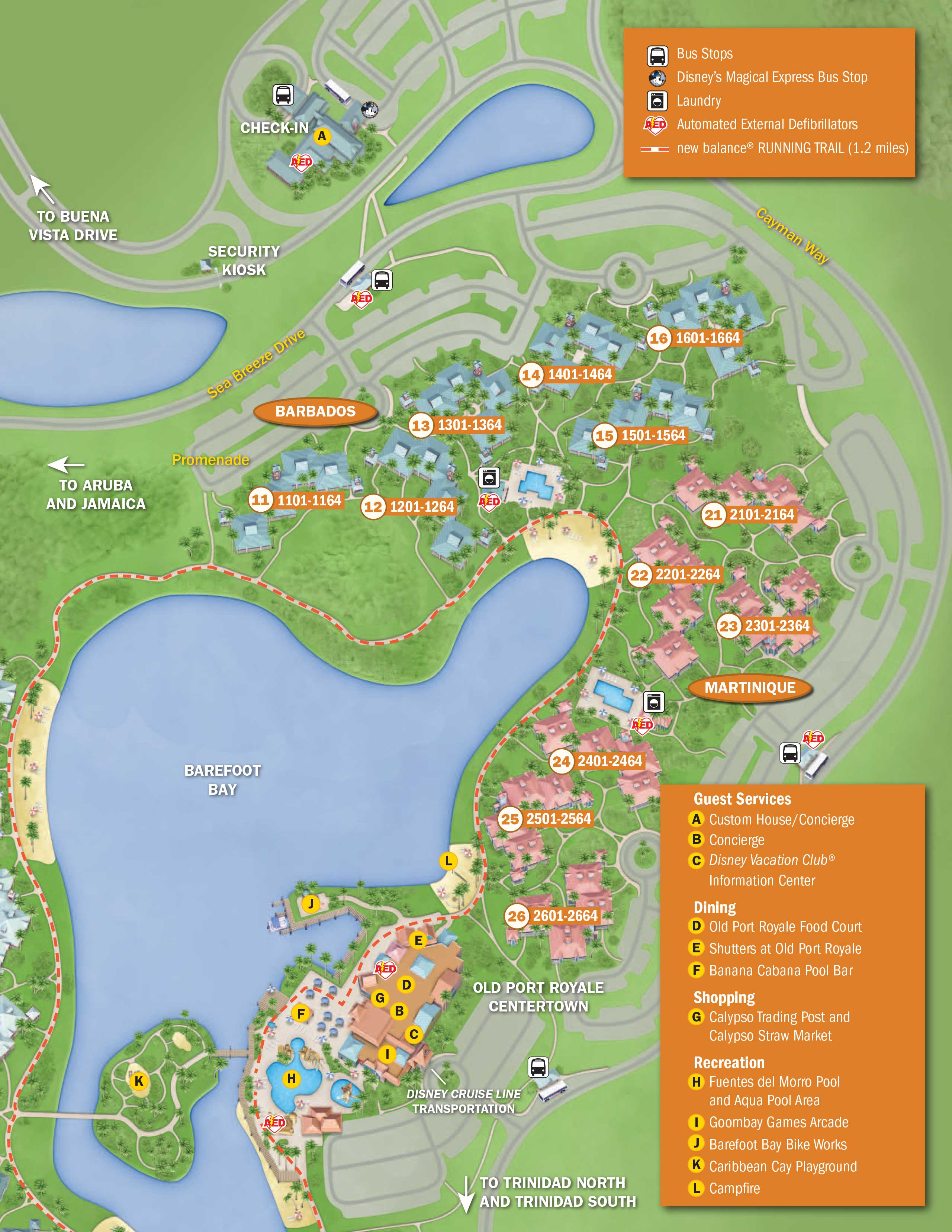 April 2017 Walt Disney World Resort Hotel Maps - Photo 16 of 33
