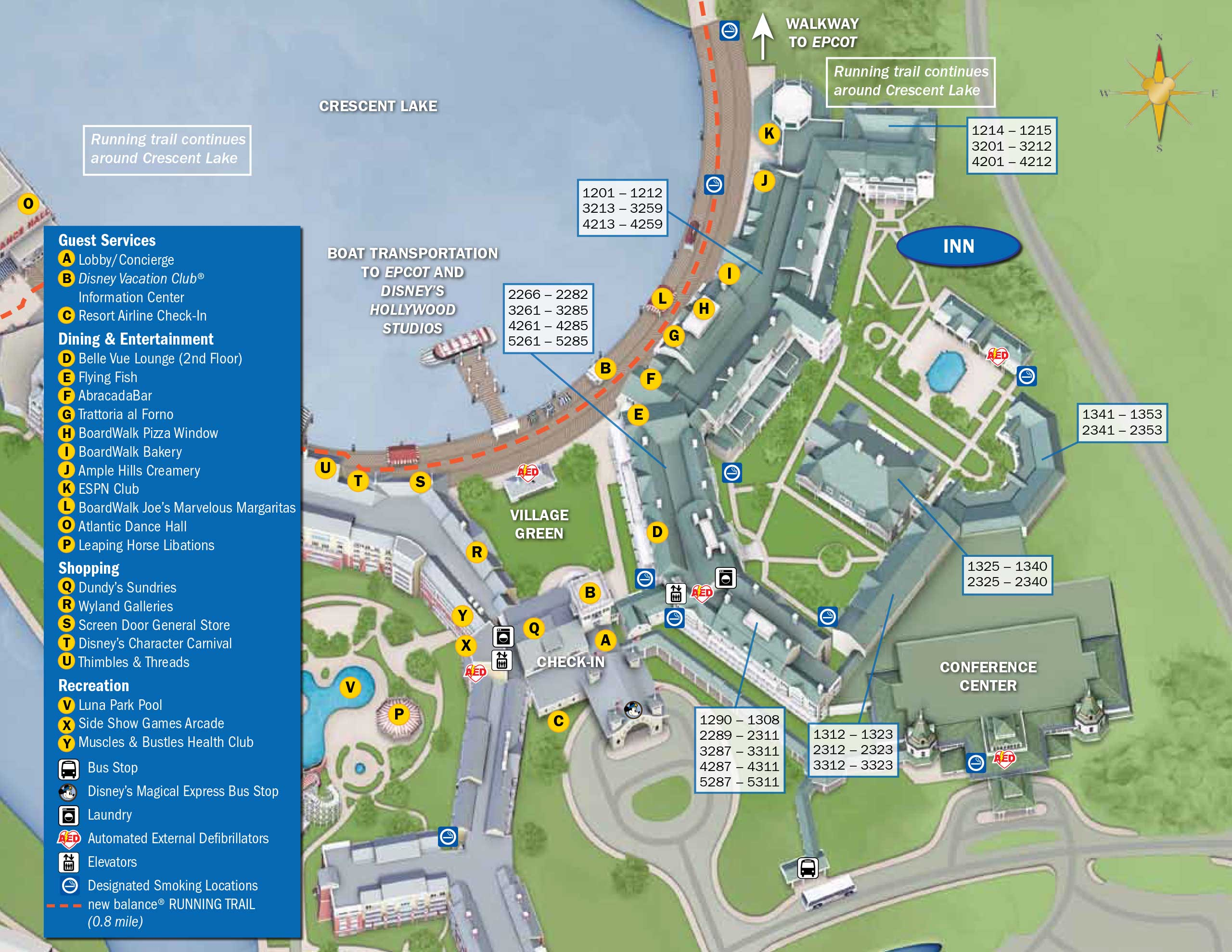 April 2017 Walt Disney World Resort Hotel Maps - Photo 19 of 33