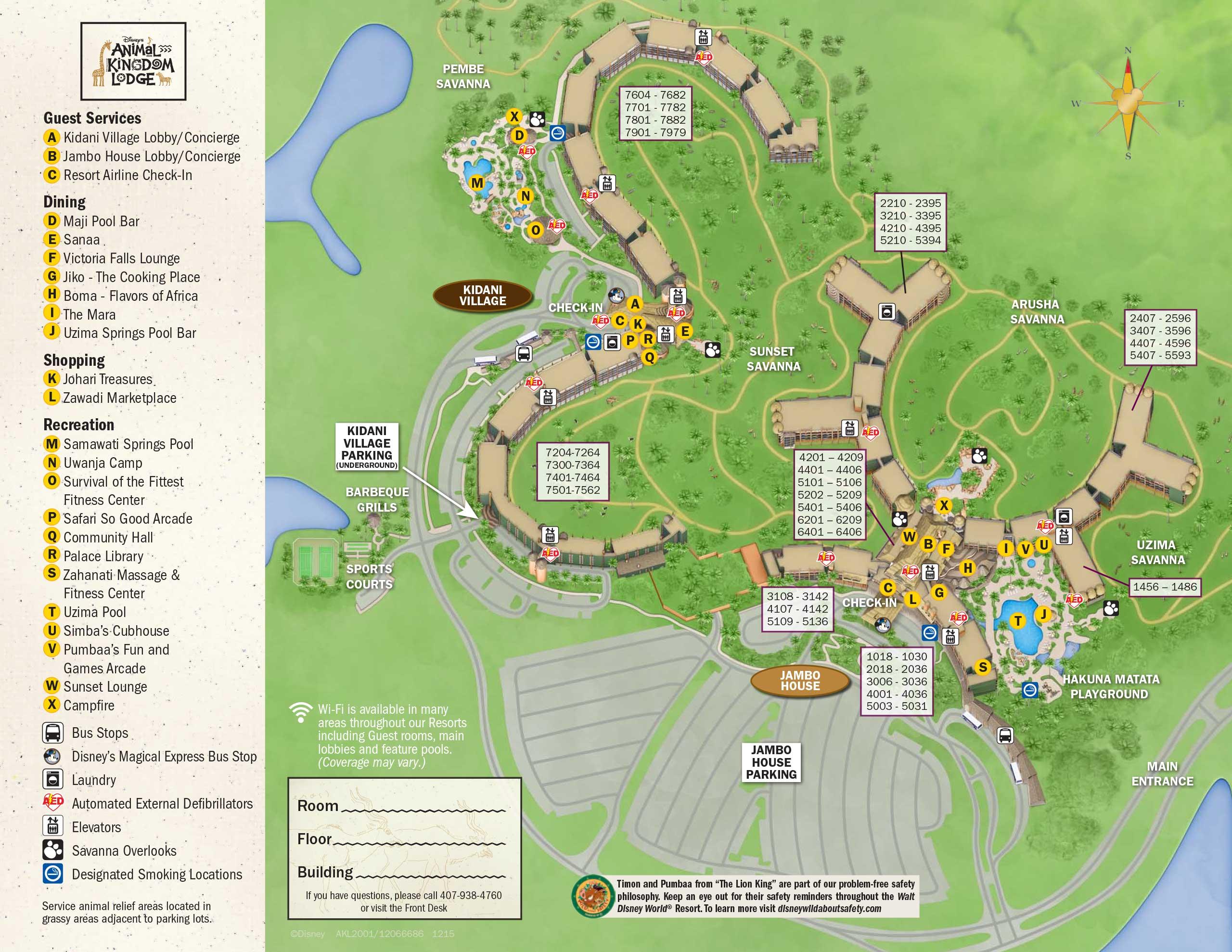 April 2017 Walt Disney World Resort Hotel Maps - Photo 22 of 33 on