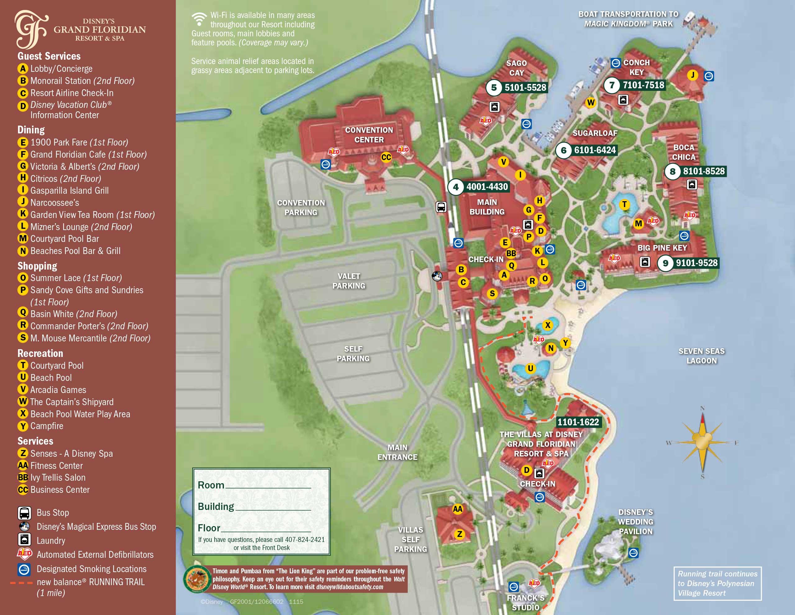 Walt Disney World Map With Hotels.April 2017 Walt Disney World Resort Hotel Maps Photo 25 Of 33
