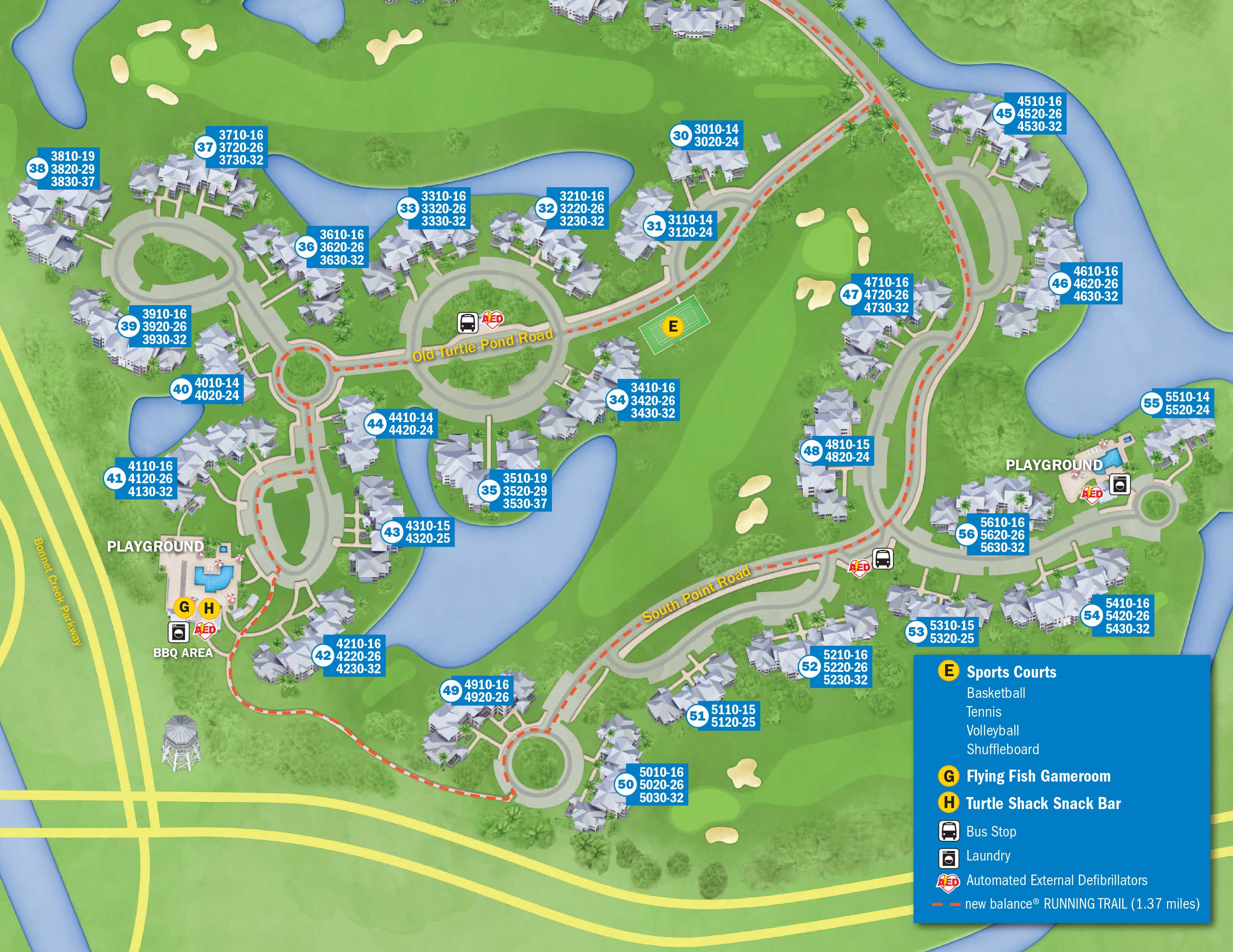 April 2017 Walt Disney World Resort Hotel Maps   Photo 28 of 33