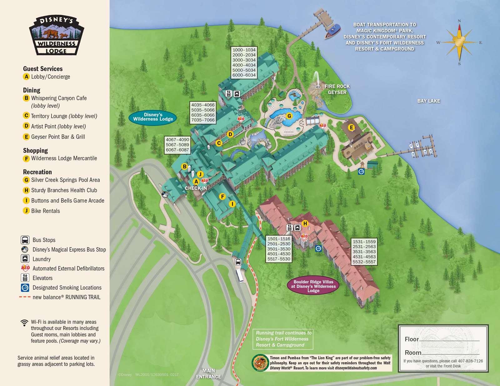 April 2017 Walt Disney World Resort Hotel Maps - Photo 30 of 33
