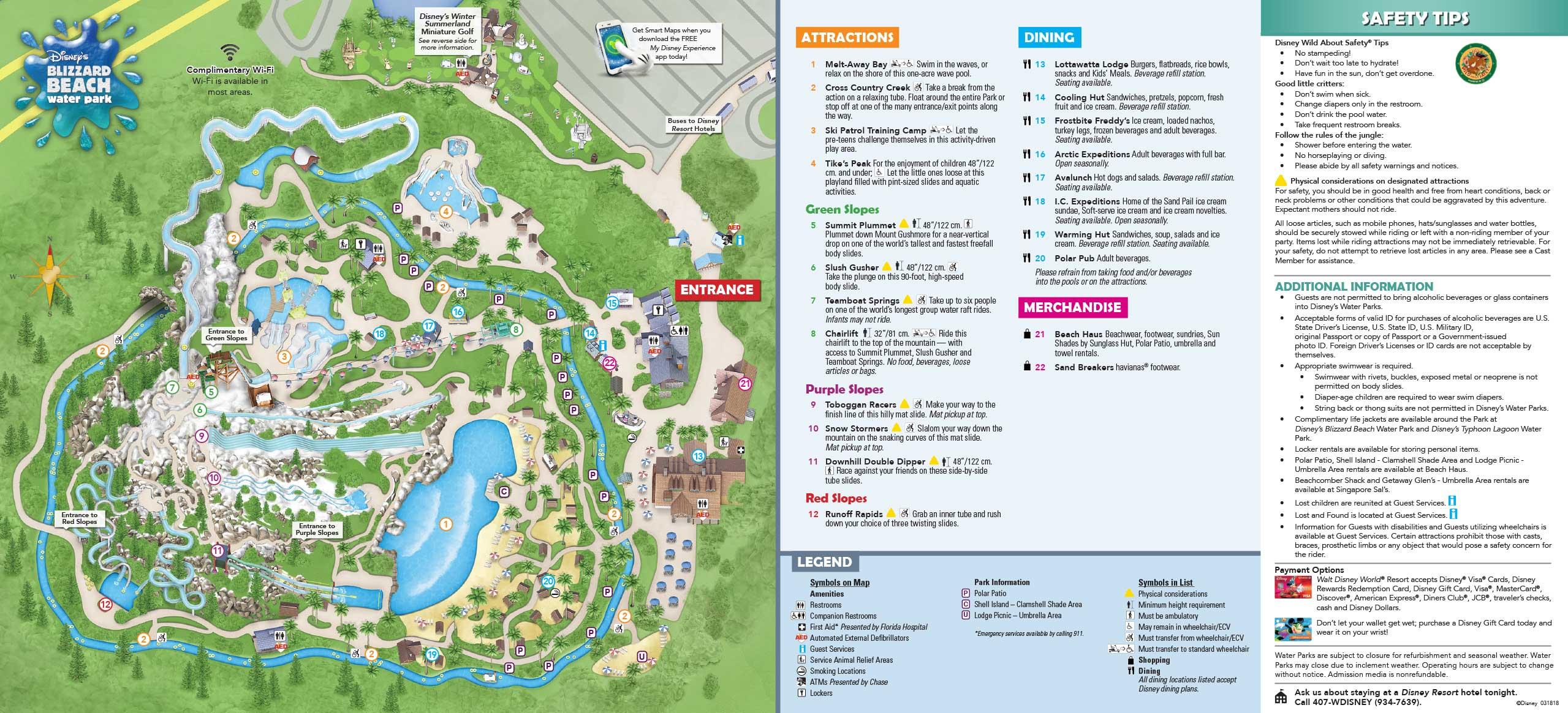 January 2019 Walt Disney World Park Maps - Photo 10 of 14