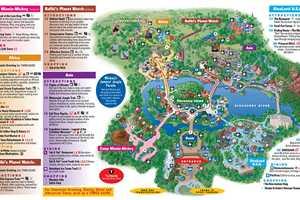 Park Maps 2008 - Photo 4 of 4 Disney World Map Magic Kingdom on