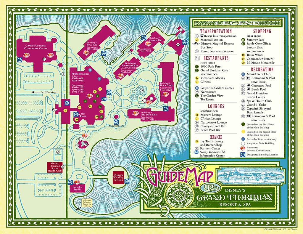 Resort Maps 2008