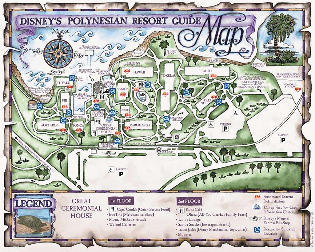 Resort Maps 2008 - Photo 12 of 17 on