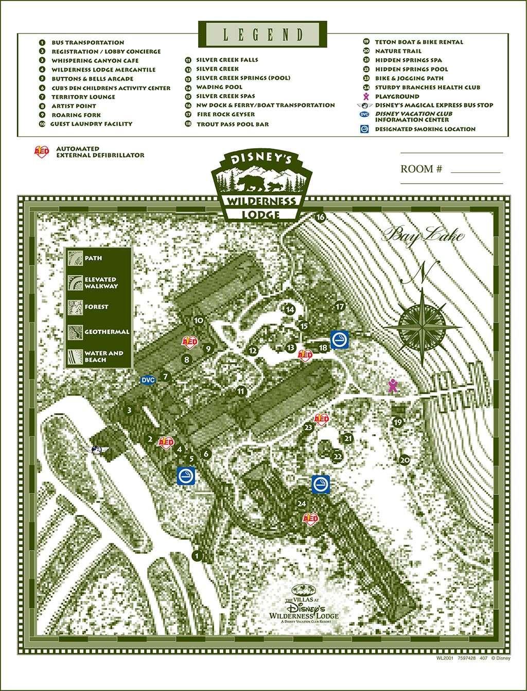 Resort Maps 2008 - Photo 10 of 17 on