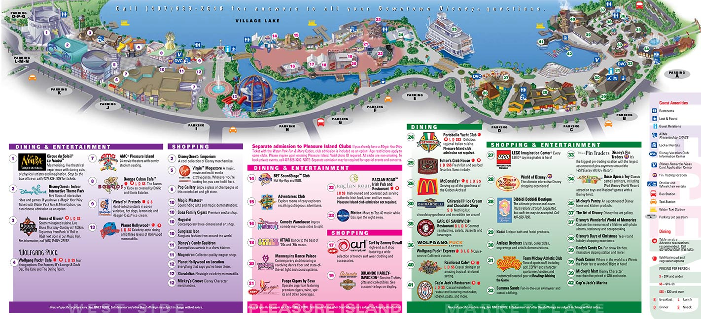 Disney World Maps Pdf Vishawa skyline drive map gulf stream map
