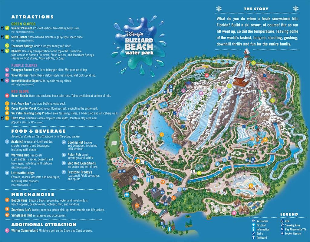 Water Park Maps 2008
