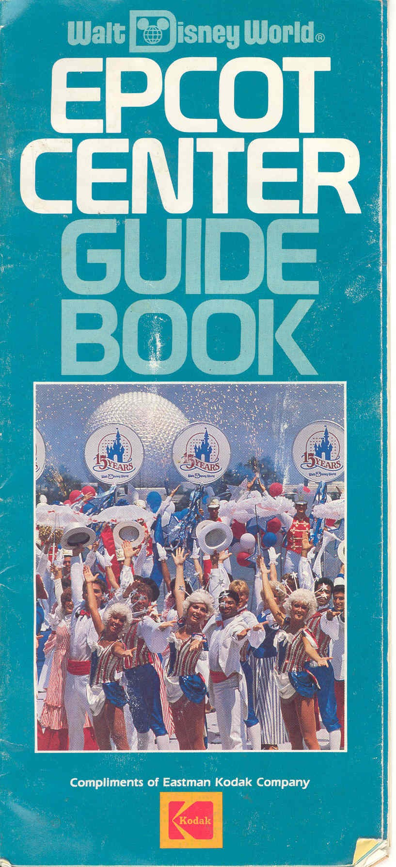Epcot Center Guide Book 1986