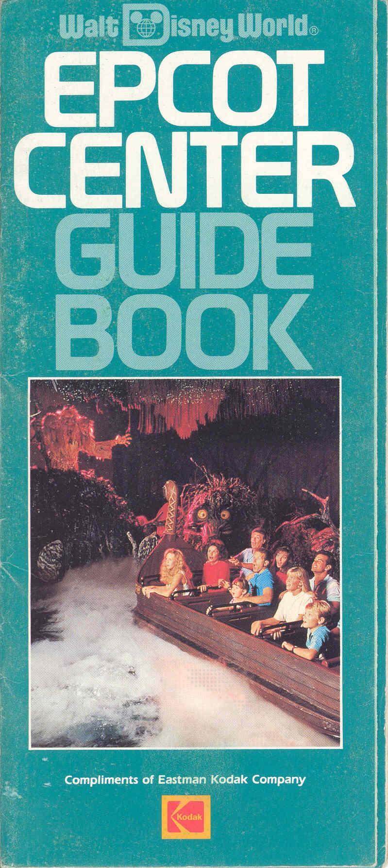 Epcot Center Entertainment Guide 1989