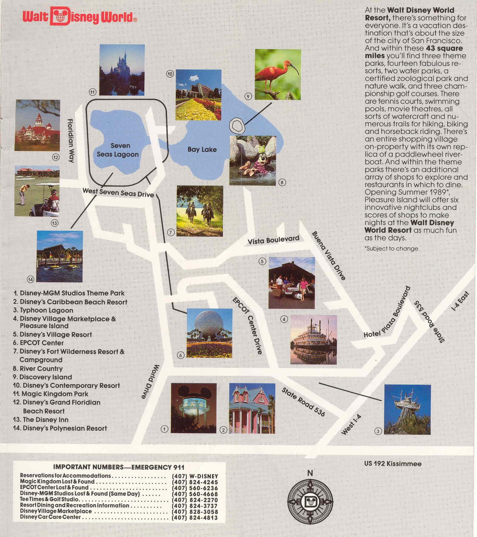 DisneyMGM Studios Guide Book Photo Of - Walt disney world river country map