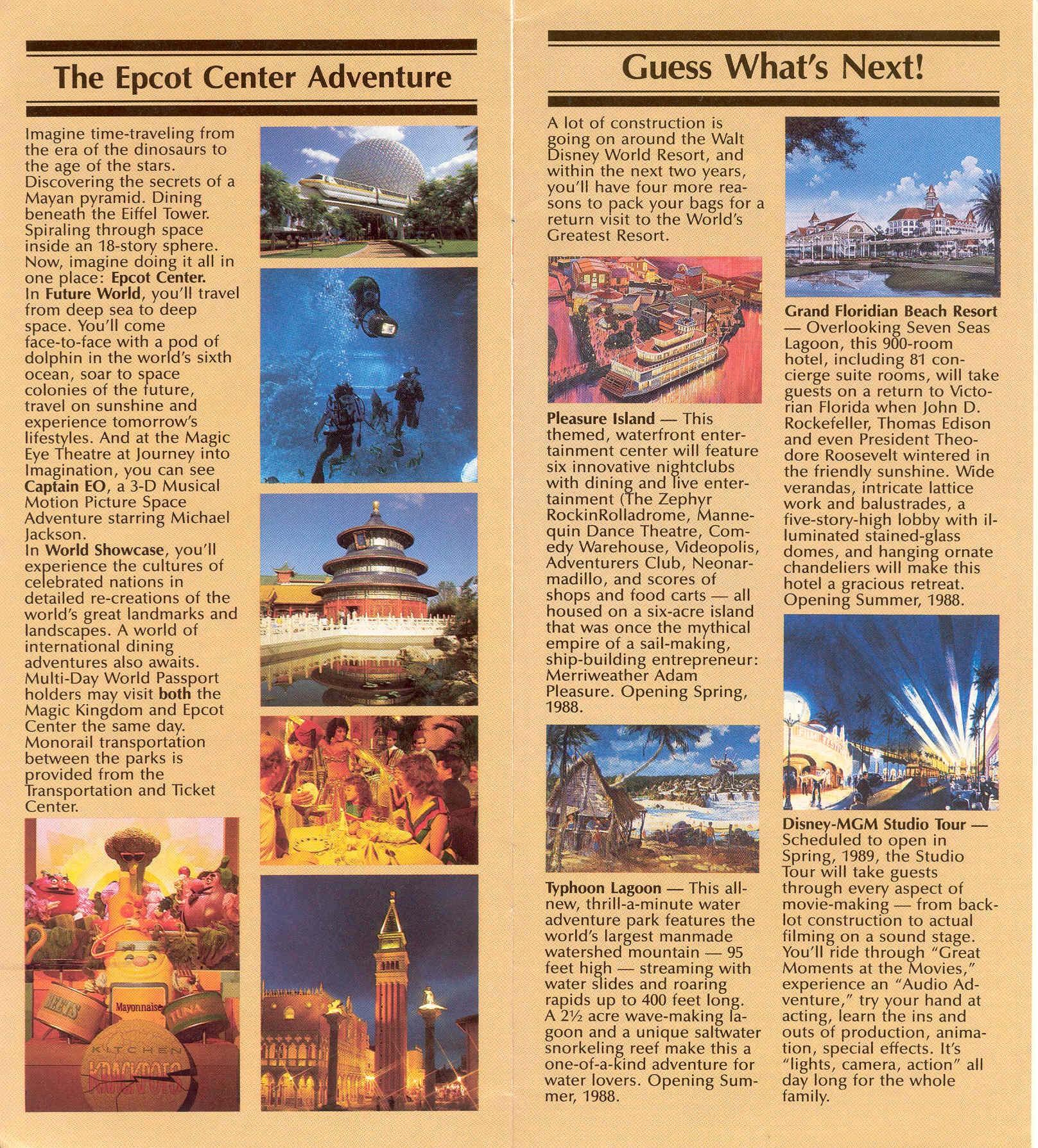 Magic Kingdom Guide Book 1986 - Photo 6 of 12