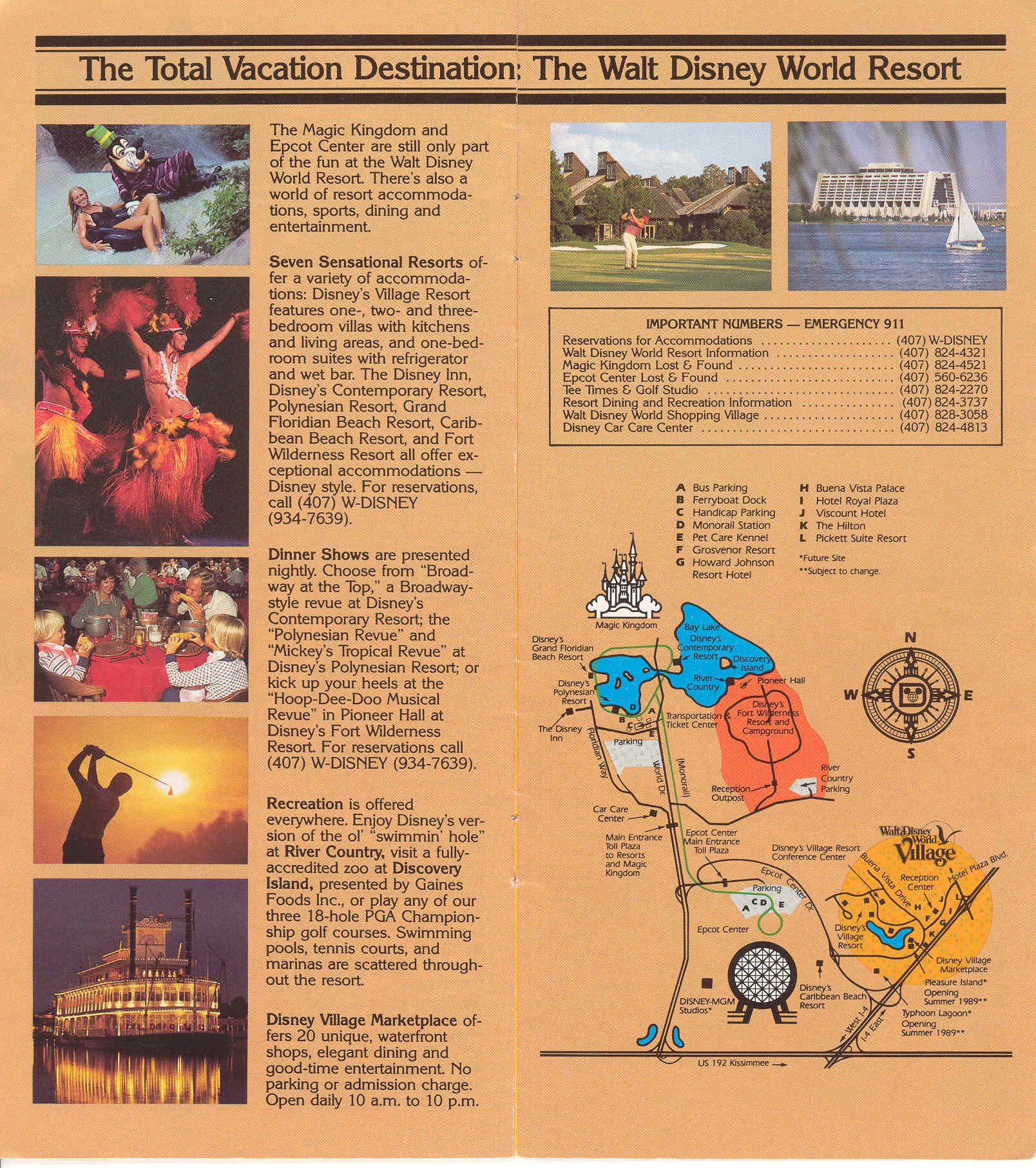Magic Kingdom Guide Book Photo Of - Walt disney world river country map