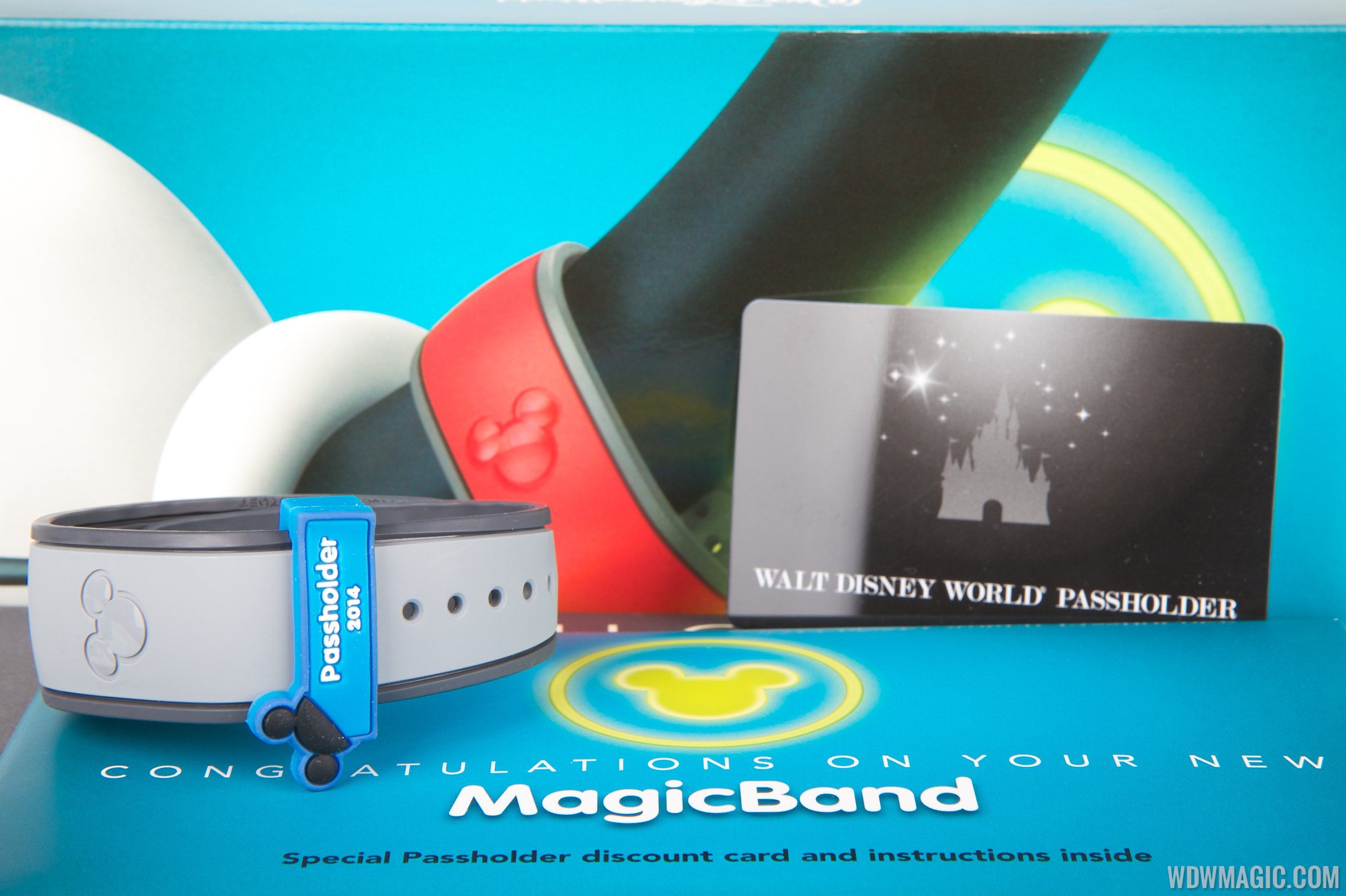 MagicBand passholder contents